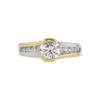 0.85 ct. Round Cut Solitaire Ring, F, SI2 #3