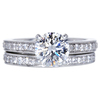 1.50 ct. Round Cut Bridal Set Ring, G, VS1 #3