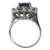 3.05 ct. Natural Blue Sapphire & Diamond Ring #2