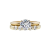 1.20 ct. Round Cut Bridal Set Ring, L, SI2 #3