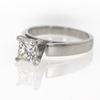 1.01 ct. Princess Cut Solitaire Ring #2