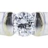0.79 ct. Round Cut Bridal Set Ring, E, SI2 #4