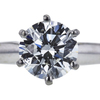 1.08 ct. Round Cut Bridal Set Ring, I, SI2 #4