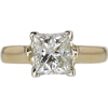 1.84 ct. Princess Cut Solitaire Ring, K, VS1 #3