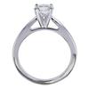 1.09 ct. Round Modified Brilliant Cut Bridal Set Ring, E, I1 #2