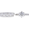 1.51 ct. Round Cut Bridal Set Ring, H, SI2 #3