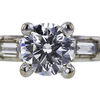 1.15 ct. Round Cut Bridal Set Ring #2