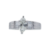 1.01 ct. Marquise Cut Solitaire Ring, K, I1 #3
