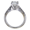1.17 ct. Round Cut Solitaire Ring, F, VS1 #1