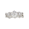 1.14 ct. Round Cut Bridal Set Ring, I, VVS2 #3