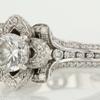 0.73 ct. Round Cut Bridal Set Ring #4