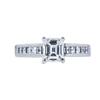 1.08 ct. Emerald Cut Solitaire Ring, H, VVS2 #3