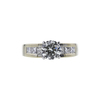 1.08 ct. Round Cut Solitaire Ring, M, VS1 #2