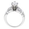 1.53 ct. Marquise Cut Bridal Set Ring, D, SI1 #4