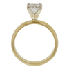 1.12 ct. Square Emerald Cut Solitaire Ring, I-J, SI1 #2