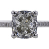 1.91 ct. Cushion Cut Solitaire Ring #4