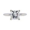 2.02 ct. Princess Cut Solitaire Ring, K, VS1 #3