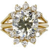 4.5 ct. Round Cut Bridal Set Ring, M-Z, VS2 #3
