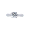 1.06 ct. Octagonal Modified Cut Solitaire Ring, I, SI2 #3