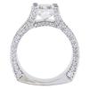 2.01 ct. Cushion Modified Cut Bridal Set Ring, I, VS2 #3