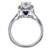 0.87 ct. Cushion Modified Cut Bridal Set Ring, I-J, SI1-SI2 #3