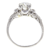 1.01 ct. Round Cut Solitaire Ring, F, VS2 #4