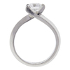 0.93 ct. Round Cut Bridal Set Ring, E, VS2 #4