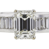 2.01 ct. Emerald Cut Solitaire Ring, I, VS1 #4