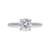 1.02 ct. Round Cut Solitaire Ring, I, SI1 #3