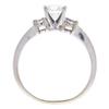 0.7 ct. Round Cut Bridal Set Ring, F, VS1 #4