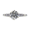 0.99 ct. Round Cut Solitaire Ring, L, SI2 #3