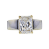 1.97 ct. Radiant Cut Solitaire Ring, H, I2 #3