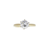 1.15 ct. Round Cut Solitaire Ring, I-J, SI2-I1 #2
