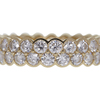 Round Cut Eternity Band Cartier Ring, G-H, VS1-VS2 #1