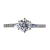 0.71 ct. Round Cut Solitaire Ring, G, VS2 #3