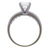 1.42 ct. Princess Cut Bridal Set Ring, G-H, SI1 #3