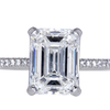 3.51 ct. Emerald Cut Solitaire Ring #3