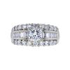 1.03 ct. Princess Cut Solitaire Ring, I, VVS2 #3