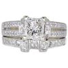 1.24 ct. Princess Cut Bridal Set Ring, E, VS2 #3