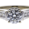 1.02 ct. Round Cut Solitaire Ring, H, VS2 #4