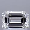 1.01 ct. Emerald Cut Bridal Set Tacori Ring, G, VS2 #1