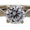 1.10 ct. Octagonal Cut Solitaire Ring #3