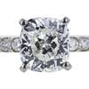 2.03 ct. Cushion Cut Bridal Set Ring, H, VS1 #4