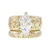 2.27 ct. Marquise Cut Bridal Set Ring, K, SI2 #3