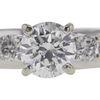 0.87 ct. Round Cut Bridal Set Ring, G, SI1 #4