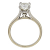 1.71 ct. Cushion Modified Cut Solitaire Ring, L, VS2 #4