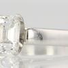 0.99 ct. Emerald Cut Bridal Set Ring #2