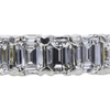 Emerald Cut Eternity Band Ring #2