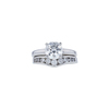1.51 ct. Round Cut Bridal Set Ring, G, SI1 #3