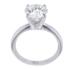2.21 ct. Round Cut Solitaire Ring, J, SI2 #3